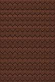 Choco hearts pattern Royalty Free Stock Images