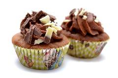 Choco-kleiner Kuchen Lizenzfreie Stockbilder