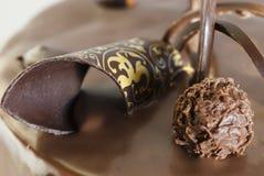 Choco Kuchen Lizenzfreies Stockfoto