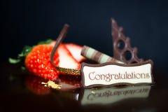 Choco-Kuchen Lizenzfreie Stockbilder