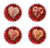 Choco Love Royalty Free Stock Photography