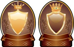 Choco medallions Royalty Free Stock Image