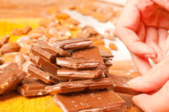 Choco mix Stock Photo