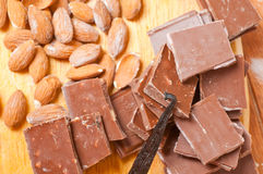 Choco mix Stock Photography