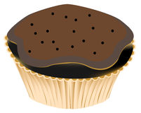Choco muffin Royalty Free Stock Images