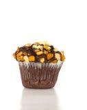 Choco orange crumble muffin. Cake Royalty Free Stock Photos