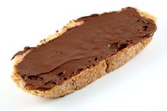 Choco-Pane tostato Fotografia Stock Libera da Diritti