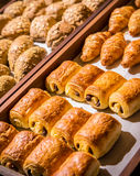 Choco Puff Pastry Royalty Free Stock Photo