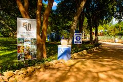 Choco-story Uxmal. UXMAL, MEXICO - NOV 4, 2016: Choco-story Uxmal, a chocolate museum, a touristic attraction in Mexico Stock Images