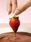 Choco Strawberry Stock Images