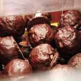 Chocoballs stock photography
