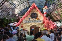 Chocofest Gramado del este el Brasil Imagenes de archivo