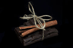 Chocogift black Stock Photography