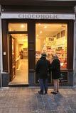 Chocoholic, Брюссель стоковые изображения rf