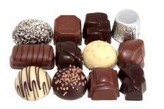 Chocolade 5 van de luxe Stock Foto's