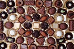 Chocolade background Stock Images