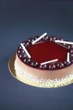 Chocolade Berry Mousse Cake Royalty-vrije Stock Afbeeldingen