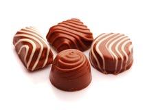 Chocolade bon bons Stock Fotografie