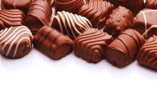 Chocolade bon bons Stock Afbeelding