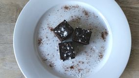 Chocolade Brownies Stock Foto