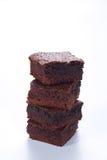 Chocolade brownies Stock Afbeelding