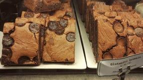 Chocolade Brownies Royalty-vrije Stock Fotografie