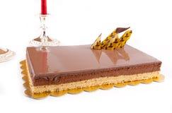 Chocolade Cack Stock Afbeeldingen