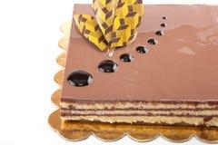 Chocolade Cack Stock Foto's