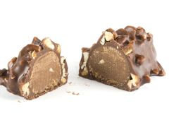 Chocolade candie Royalty-vrije Stock Fotografie