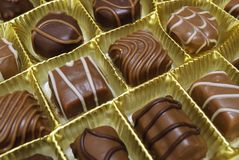Chocolade candys Royalty-vrije Stock Fotografie