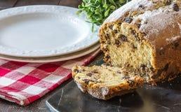 Chocolade Chip Bread Royalty-vrije Stock Fotografie