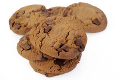Chocolade Chip Cookie Royalty-vrije Stock Foto's