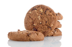 Chocolade Chip Cookies royalty-vrije stock foto