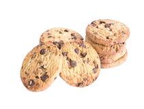 Chocolade Chip Cookies Royalty-vrije Stock Afbeeldingen