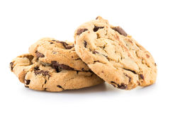 Chocolade Chip Cookies Royalty-vrije Stock Foto's
