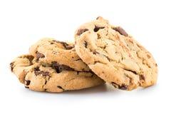 Chocolade Chip Cookies Royalty-vrije Stock Foto's