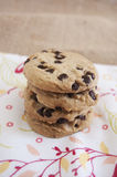 Chocolade Chip Cookies Stock Foto's