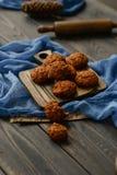 Chocolade Chip Cookies Royalty-vrije Stock Foto