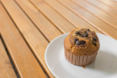 Chocolade Chip Muffin Royalty-vrije Stock Foto