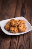 Chocolade Chips Cookies Stock Afbeeldingen