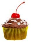 Chocolade cupcake Stock Afbeelding