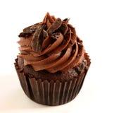 Chocolade Cupcake Royalty-vrije Stock Afbeeldingen