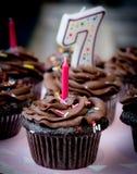 Chocolade cupcake Royalty-vrije Stock Fotografie