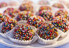 Chocolade cupcake Royalty-vrije Stock Afbeelding