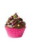 Chocolade cupcake Royalty-vrije Stock Foto's