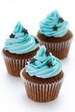 Chocolade cupcakes Royalty-vrije Stock Foto