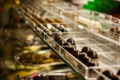 Chocolade in een plank Royalty-vrije Stock Foto's
