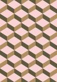 Chocolade en Aardbeikleuren Abstracte Denkbeeldige Achtergrond Royalty-vrije Stock Fotografie