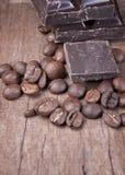 Chocolade en koffie Royalty-vrije Stock Afbeelding