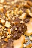 Chocolade en Noten Royalty-vrije Stock Afbeelding
